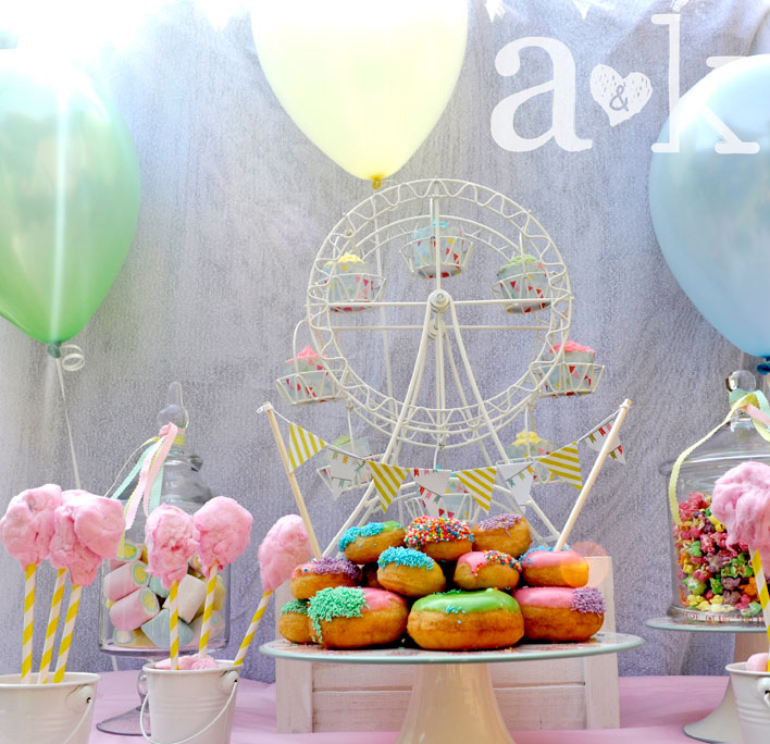 Pastel Carnival Party by A&K Lolly Buffet