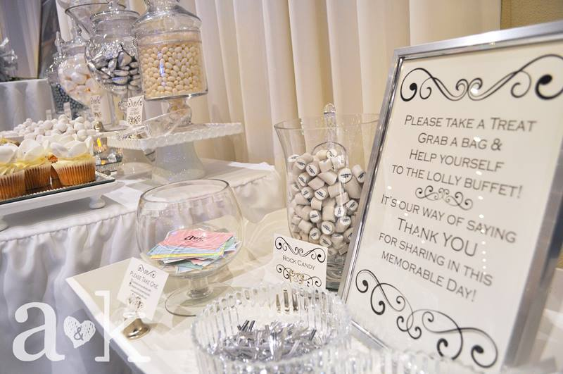 Silver Wedding Anniversary Dessert Buffet by A&K