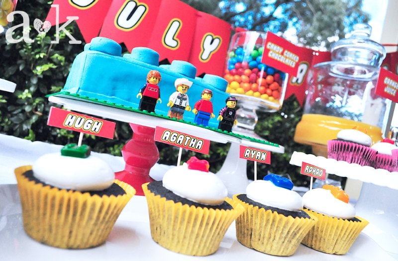 LEGO dessert buffet by A&K