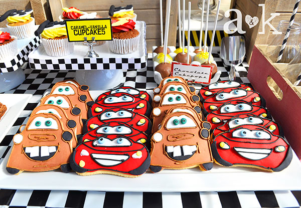 Cars Cookies by Sweet Treats by Martie