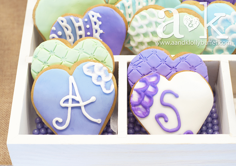 Cookies by Sweet Treats by Martie. Syling & Photography by A&K.