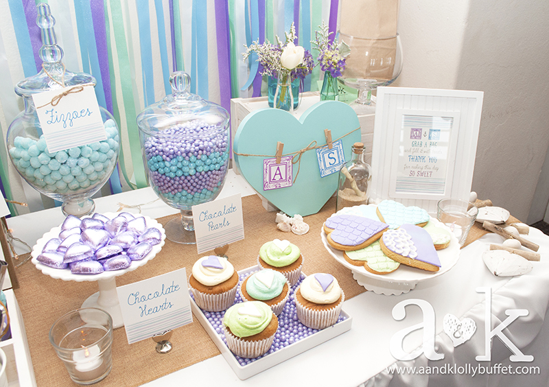 Amanda shaun s coastal engagement party - Engagement party decoration ideas home property ...
